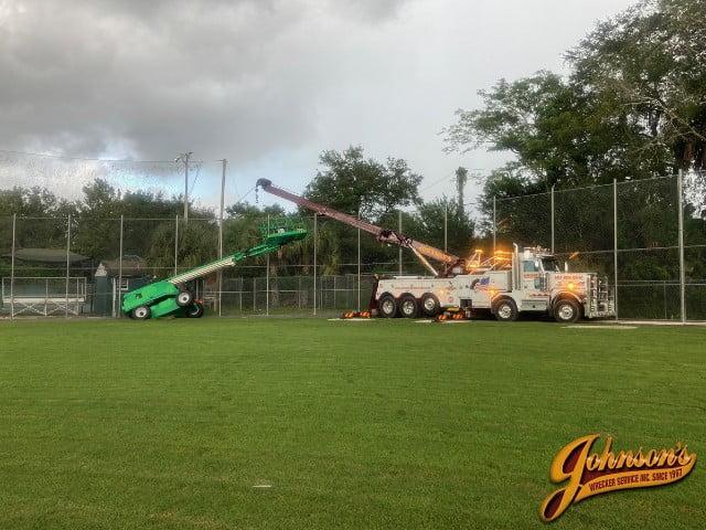 heavy equipment recovery